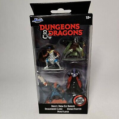 AU12.85 • Buy Dungeons And Dragons Jada Toys Nano Metal Figurines Diecast Starter Pack D&D