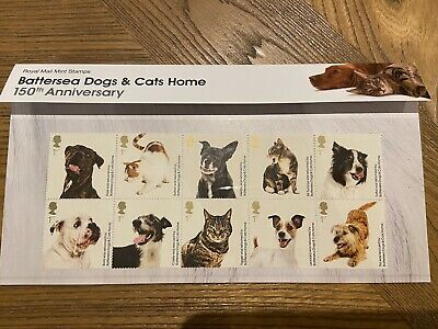 GB  2010 Battersea Dogs And Cats Home Royal Mail  Presentation Pack  No 436 • 4.20£