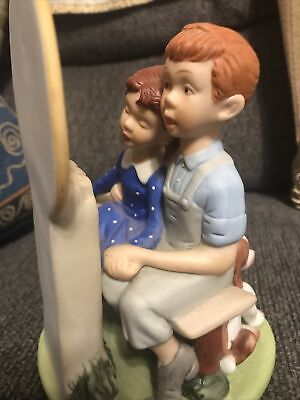 $ CDN8.92 • Buy  Young Love  From The Norman Rockwell Porcelain Figurines Danbury Mint VTG 1980