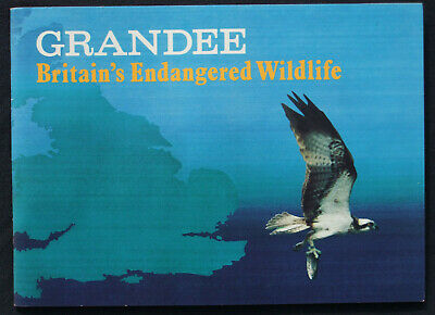 Grandee Cigarette/Cigar Cards BRITAIN'S ENDANGERED WILDLIFE - Full Set Held In • 3.50£