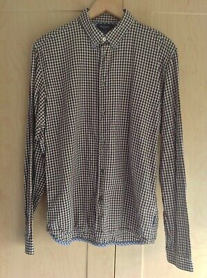 Mens Paul Smith Long Sleeved Shirt Size Large Tailored Fit • 0.99£