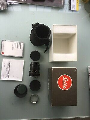 Leica Tele-emarit 1:2,8/90mm With Lens Hood  And Leitz Uv Filter • 650£