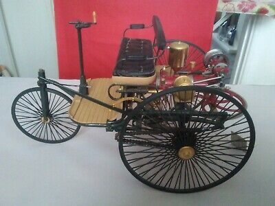 Franklin Mint- The 1886 Benz Patent Motorwagen 1:8 Scale RARE • 42£