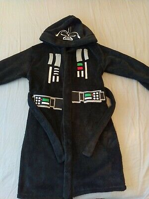Brilliant Boys Official Star Wars Dressing Gown.  Darth Vader Age 6-7+ • 2.10£