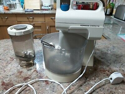 Vintage Kenwood Chefette Hand Mixer And Blender A375 1970s  Good Condition • 10.50£