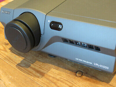 Sony VLP-X1000M Projector Working Good Condition With Remote Control Mouse • 35£