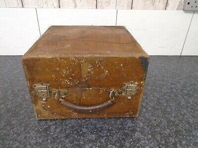 Decca Antique Vintage Gramophone Case Box  Empty Upcycling Dpo Refurb Project • 9.99£