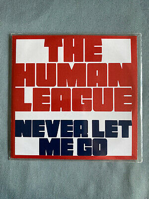 The Human League - Never Let Me Go - 3-track Promo CD • 4.20£