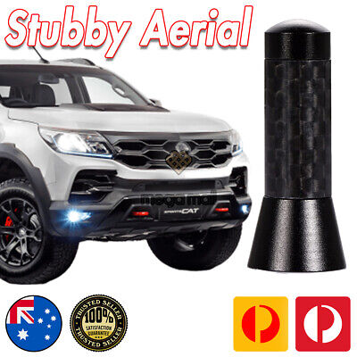 AU23.99 • Buy Antenna / Aerial Stubby Bee Sting For Holden Colorado Z71 Black Carbon 3.5 CM
