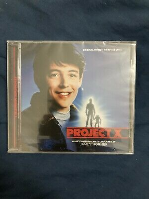 James Horner-Project X CD Soundtrack, La La Land Records Release • 15.99£