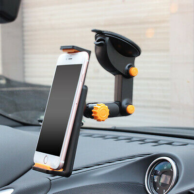 360° Car Windshield Holder For 7-11  IPad Mini/2/3/4/Air Tablet IPhone GPS TOP • 8.99£