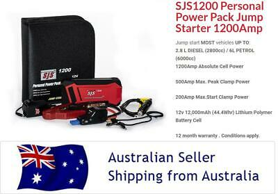 AU174.95 • Buy SJS1200 PRO SMART JUMP STARTER POWER BANK! Starts Up To 2.8l Diesel & 6L Petrol