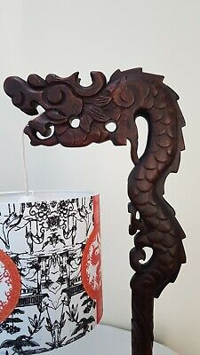 Antique Chinese Dragon Table Lamp • 150£