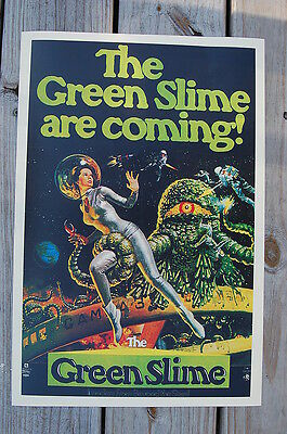 $ CDN3.82 • Buy The Green Slime Are Coming Lobby Card Movie Poster
