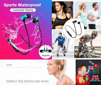 $ CDN6.38 • Buy Bluetooth Headphones Wireless Earbuds PREMIUM For Android And Iphone UK SELLER