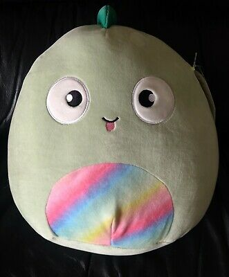 "$ CDN34.19 • Buy NWT Squishmallows Target 12"" KENT Green Lizard Iguana Chameleon Rainbow Plush"