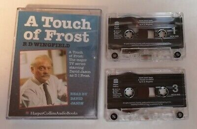 AUDIO BOOK - RD Wingfield A Touch Of Frost Read By David Jason Audio Tapes • 3£