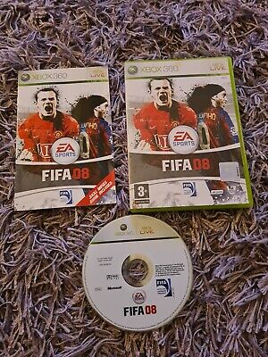 FIFA 08 (Microsoft Xbox 360, 2007) - European Version • 0.99£