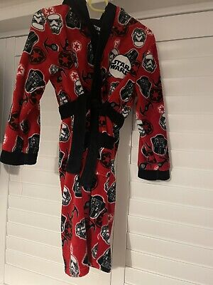 Star Wars Dressing Gown Age 7/8 • 0.99£