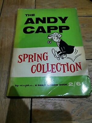 The Andy Capp Spring Collection ~ 1960 Paperback ~ Smythe ~ A Daily Mirror Book • 2£