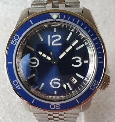$ CDN603.71 • Buy SEIKO SKX007 Mod  Blue Laggon  NH36A Jubilee Steel Bracelet New Condition