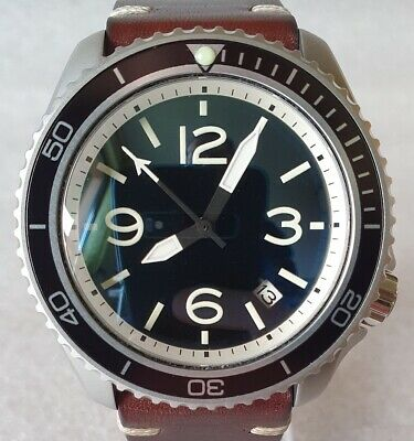 $ CDN712.07 • Buy SEIKO SKX007 Mod  Aviator Style 2  NH36A Leather Strap New Condition