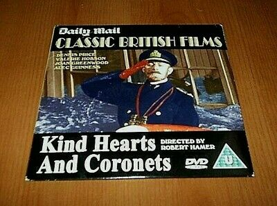 `KIND HEARTS AND CORONETS `Alec Guinness PROMO DVD • 0.99£