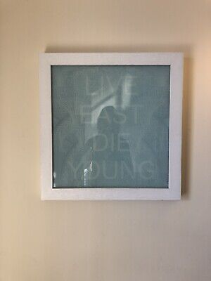 £750 • Buy Rare Pure Evil Signed And Framed On Glass