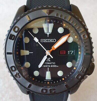 $ CDN773.99 • Buy SEIKO SKX007 Mod  The Black Orange Mod  NH36A SRP777 Dial ! New Condition