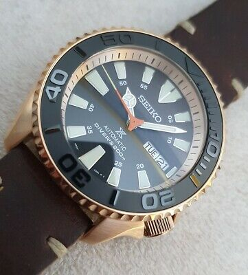 $ CDN773.99 • Buy SEIKO SKX007 Mod  Yacht Black Rose Gold  NH36A Yacht Master New