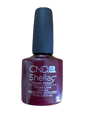 AU10 • Buy CND Shellac UV LED Gel Nail Polish 'Tinted Love' 7.3ml .25oz