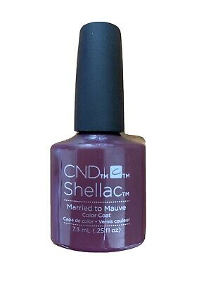 AU10 • Buy CND Shellac UV LED Gel Nail Polish 'Married To Mauve' 7.3ml .25oz