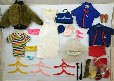 $ CDN12.72 • Buy LOT OF VINTAGE 1960's MATTEL BARBIE AND KEN DOLL CLOTHES SHOES ACCESSORIES