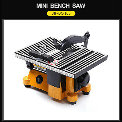 4  Mini Table Saw For Wood Copper Cutting Machine Woodworking Grinder Polisher • 133.30£