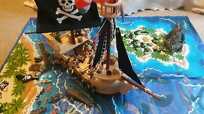 £50 • Buy Toy ELC Pirate Ship With Plastic Playmat And Pirate Accessories