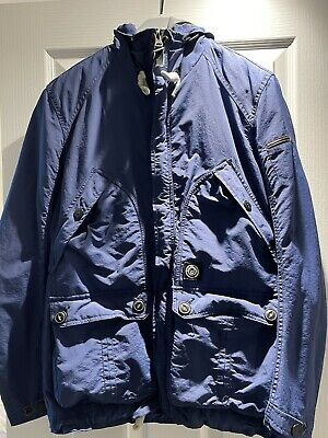 Duck And Cover Mens Grey Jacket - Size Small • 2.70£