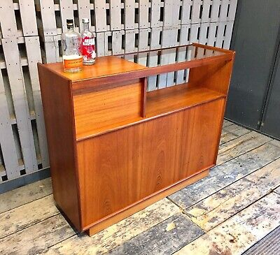 Sideboard Bar Cocktail Gin Drinks Cabinet Vintage Retro Mid Century Man Cave • 285£