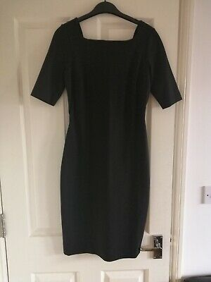 NEW & Other Stories Black Shift Square Neck Dress  Size XS 8 34 BNWT • 6£