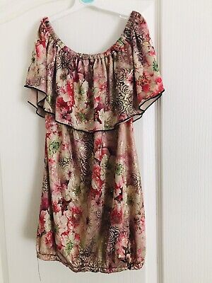 Womens Stunning Off The Shoulder Top (free Size) New • 3.50£