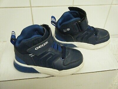 Geox Respira Boys Trainers Boots Junior Blue Size 7  • 5.99£