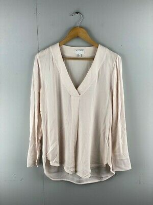 AU29.95 • Buy Witchery Womens Beige Viscose Regular V Neck Long Sleeve Pullover Top Size 12
