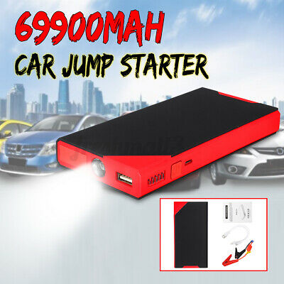 AU49.99 • Buy 69900mAh Portable Car Jump Starter Power Bank Vehicle Booster Battery Charger AU