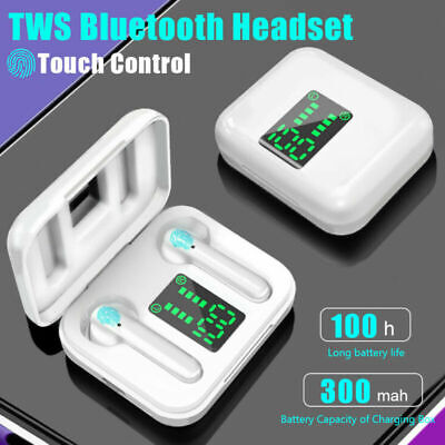 $ CDN14.55 • Buy Bluetooth Earbuds For IPhone Samsung Android Wireless Earphone IPX7 WaterProof