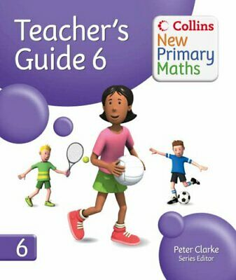 Collins New Primary Maths �  Teacher� S Guide 6: Fantastic Planni... Paperback • 63.99£
