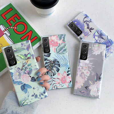 $ CDN4.90 • Buy Shiny Flower Silicone Case Cover For Samsung Galaxy S21 Ultra S20 FE A52 Note 20