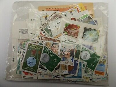Guernsey Unused Stamps For Cheap Postage £50 Face Value. Original Gum. Lot 1 • 15£