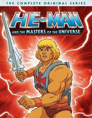 $35 • Buy He-Man And The Masters Of Universe Complete Original Series(DVD,2019)NEW HeMan