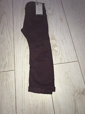 Next Boys Skinny Twist Chino Age 4 New With Tags • 4£