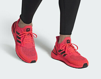 $ CDN128.48 • Buy New Adidas Ultraboost 20 Ultra Boost Running Shoes Fw8728 Signal Pink Size 9