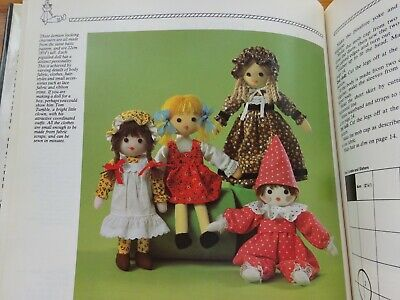 The Splendid Soft Toy Book  Soft Toys To Knit & Sew Pattern Book.  • 3.50£